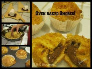 Oven Baked Smores
